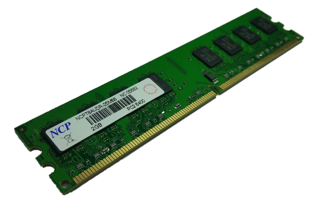 NCP DDR2 UDIMM